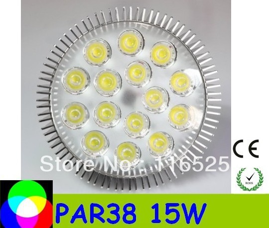PAR38 15W E27 base Led Spotlight Bulbs Led Lamp free delivery high quality factory price 85-265V 100pcs /lot