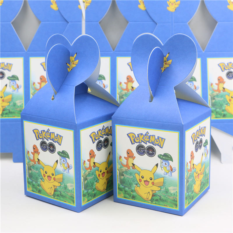 6pcs lot new baby shower souvenirs paper gift favor candy chocolate