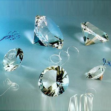 100pcs 30mm transparent brilliant Crystal Diamond jewel Wedding Decorations Centerpiece jewelry beads birthday party gifts kids(China (Mainland))