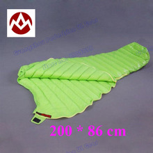 L size of Aegismax UL-Wing outdoor ultralight mummy type white Goose down camping spring and autumn sleeping bag(China (Mainland))