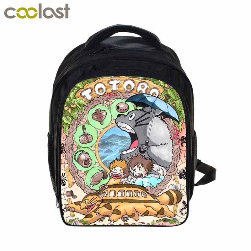 Anime Tonari no Totoro Backpacks For Kids Boys Girls School Bags Cartoon Printing Backpacks Children school Bag Mochila Escolar(China (Mainland))
