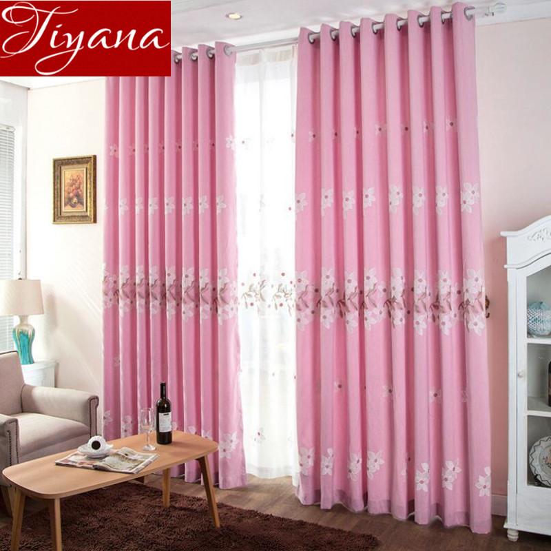 Online kopen wholesale roze voile gordijnen uit china roze for Voile gordijnen