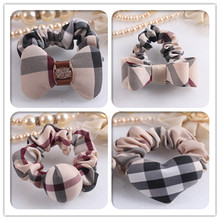 Buy 1PCS Love Bow ti Hair Accessories Women Headband,Upscale Plaid Cloth Elastic Bands Hair Girl,Novelty Hair Band Kids for $1.59 in AliExpress store