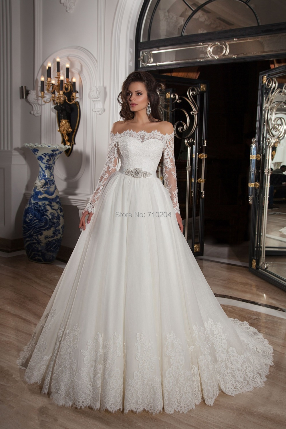 Wedding Dresses With Sleeves And Lace White | Super Wallpapers