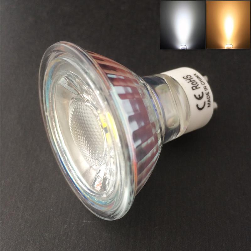 Promotion!!! 10pcs/lot GU10 COB LED Spotlight Bulbs 5W 60 Degree CE &amp; RoHS 2 Years Warranty<br><br>Aliexpress