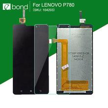 Оригинальный бренд черный TFT 1280 x 720 ЖК для Lenovo P780 с сенсорным экраном планшета ассамблеи стекло протектор