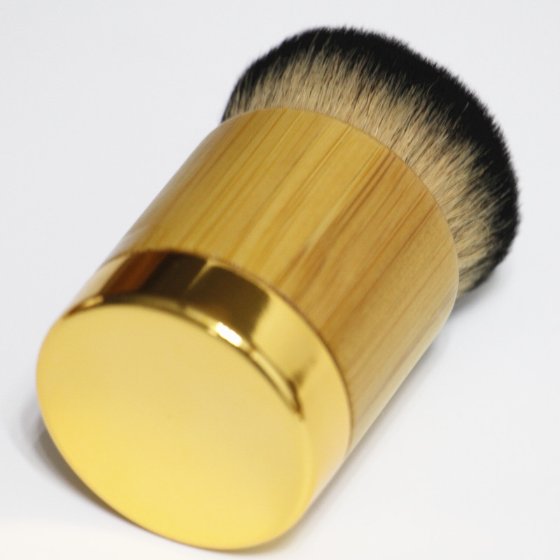 origianl tarte bamboo handle liquid foundation makeup brush mascara brush big professional foreign trade import wool