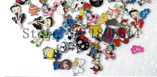 Lot Summer Styles Beautful Sexy Fashion Figure Special Necklace Pendant Mixed Cartoon Charms Fine Jewelry Making Gifts #O0082(China (Mainland))