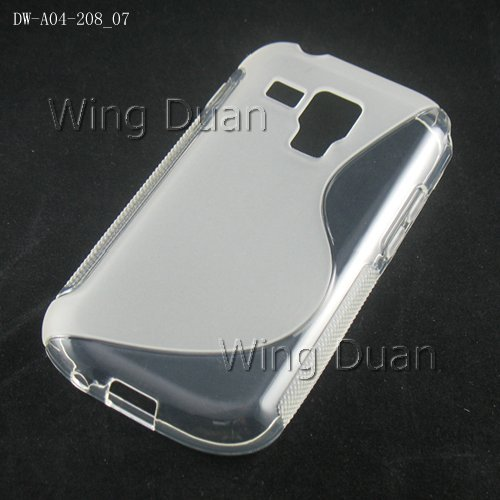 Здесь можно купить  Good price! S line TPU soft case for Samsung Galaxy S Duo S7562 free shipping via DHL/EMS 100PCS/LOT Galaxy S Duo case  Телефоны и Телекоммуникации