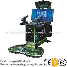 "42"" LCD, 2016 New Amusement Equipment Aliens Shooting Gun Simulator Coin Operated Arcade Video Game Machine(China (Mainland))"