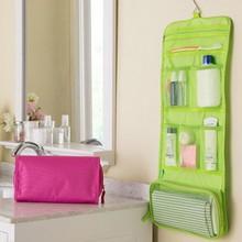 New Portable Organizer Bag Foldable Travel Make Up Portable Traveling Bag Toiletry Bags Wash Bag Bathroom Accessories QB840122(China (Mainland))