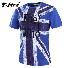 Buy T-Bird New Brand 2017 Male Slim Fit T Shirt Letter Printing Mens Cotton Short Sleeve T-Shirts Men Summer Tee Casual Tshirt Men for $9.95 in AliExpress store