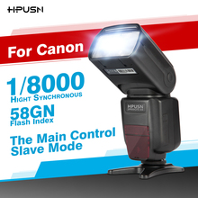 HPUSN  HP-K9  With  TTL Master/Slave Wireless High Speed Sync 1/8000s Flash Speedlite for Canon DSLR Camera