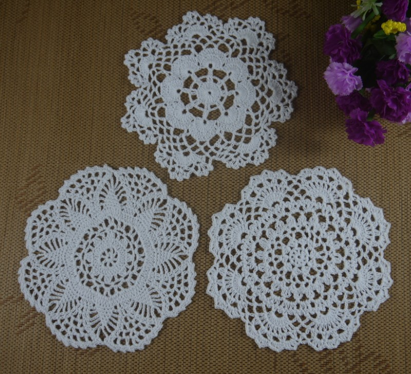 Free Crochet Patterns For Table Doilies : Aliexpress.com : Buy Free Shipping Handmade Nice Crochet ...