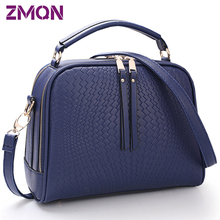 Two Zipper Women Crossbody Bags For Women Small Handbags Leather Famous Brand Fashion Women Messenger Shoulder Bag Wholesale 505(China (Mainland))