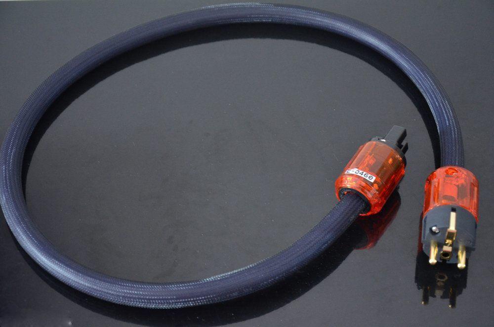 Hi End Hifi Furukawa Audio Power Cable Cord Eu Plug 0 5m