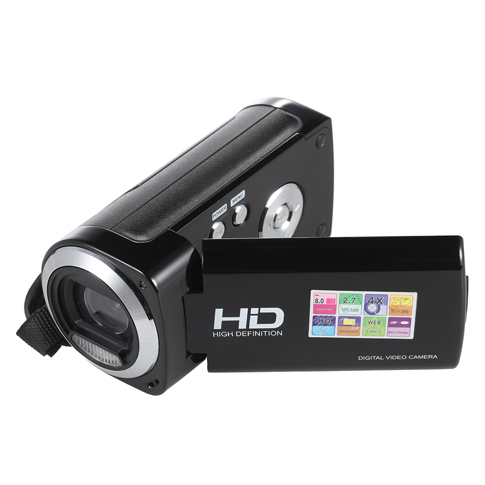 "Original TDV-1124 2.7"" LCD Screen Digital Video Camcorder Full HD 720P 12MP 30FPS 4X Digital Zoom Anti-shake DV Camera Recorder(China (Mainland))"