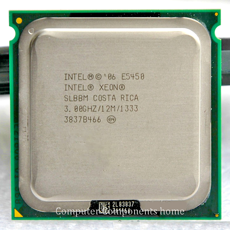 INTEL E5450 Processor(3.0GHz/12MB/1333MHz/Quad Core)close to LGA775 Q9650 with two 771 to 775 adapters warranty 1 year(China (Mainland))