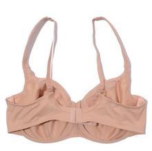 big size super thin full cup lace trim chest sides control summer bra minimizer EU85 95