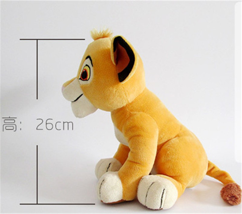 Movie Cartoon Plush Toys The Lion King Figures Simba Soft Stuffed Doll Kids Baby Children Kawaii Gift 26cm (5)