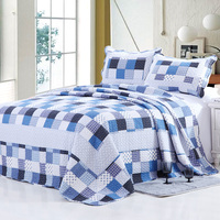 2015 hot sell 100%cotton square man design quilt
