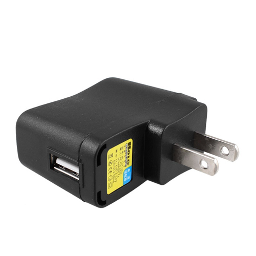USA Delivery AC 110V-240V to DC 5V 500mA USB to 2 Pin US Plug Power Adapter Charger(China (Mainland))