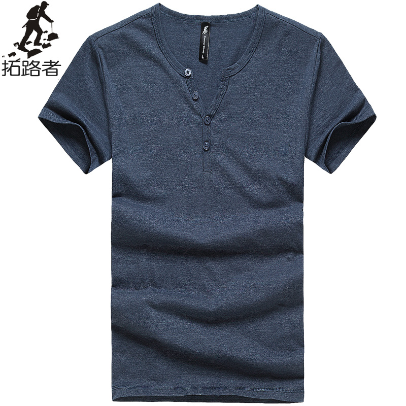 Free shipping new 2016 summer men t shirt 100 cotton thin for Mens 100 cotton t shirts