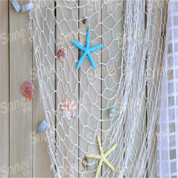 2016 HOT Home The Mediterranean Sea stZQe Wall Stickers big fishing net decoration home decoration wall hangings ZQ673216(China (Mainland))