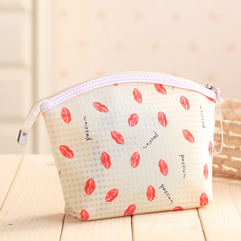 Excellent quality 5 different models of side zipper cosmetic bag cosmetic tool storage bag multi-function storage bag(China (Mainland))