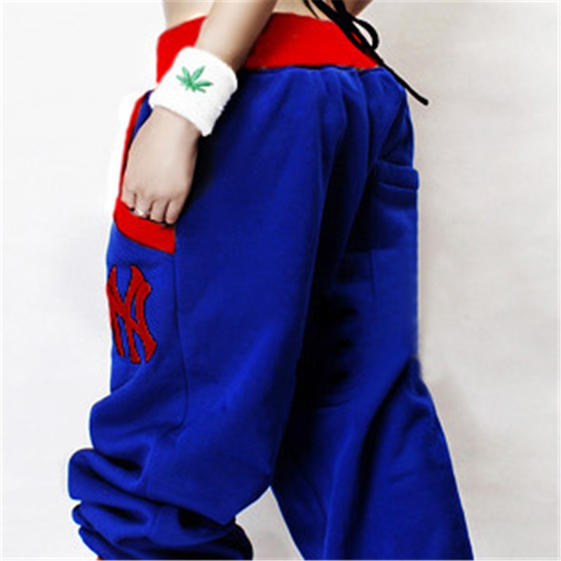Street dance contest designated HIPHOP tide casual brand couple hip-hop wind men and women trousers 1019