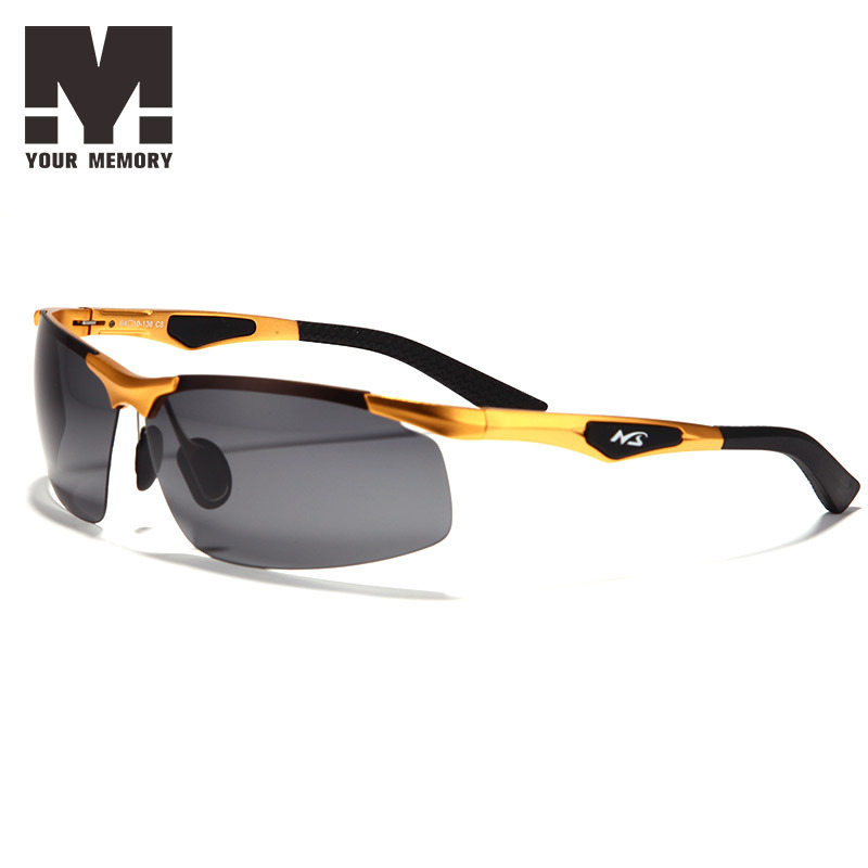 2015 Fashion Aluminum Magnesium Alloy Men Sunglasses Polarized Lens Driving Mirror Glasses Male Outdoor Sports Eyewears 3009-1(China (Mainland))