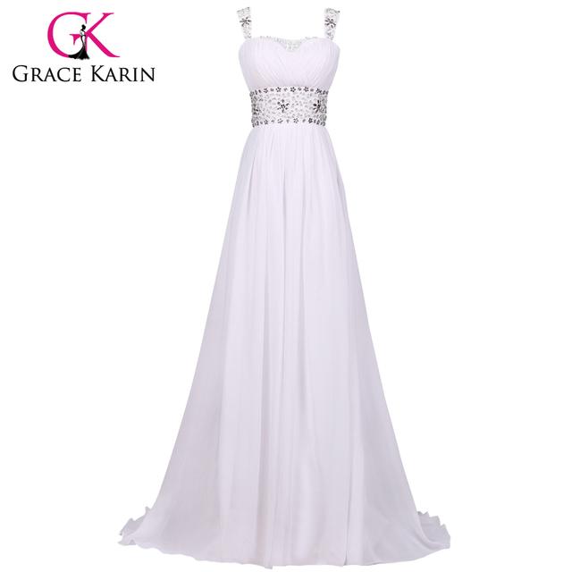 Дешевые свадебные платья грейс карин этаж пляж свадебное платье кристалл невесты ...