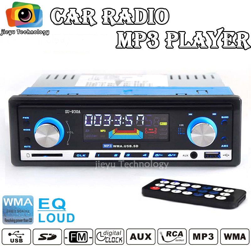12V Great quality Car Radio FM MP3 player with USB SD slot supports Play MP3/WMA forma music(China (Mainland))