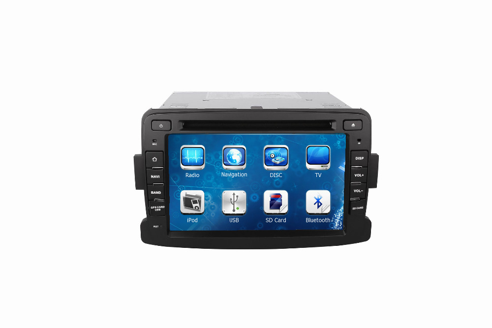 Car Radio Audio DVD Player GPS TV Bluetooth For RENAULT DUSTER 2010~Up Retail/Pc Free Shipping(China (Mainland))