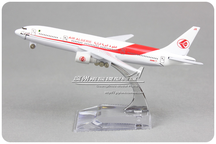 16cm Air Algerie B777 Airlines Alloy Airplane Model Airways Plane Model Diecast Souvenir Collections Vehicle Toy(China (Mainland))