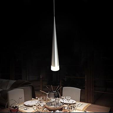 Фотография Modern Aluminum led Pendant Light, 1 Light, Transparent Acrylic Metal Plating,110V-240V,Bulb Included
