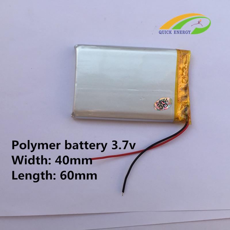 Supply fresh hine for 404060 vehie battery 3.7V-950MAH thium polymer battery(China (Mainland))