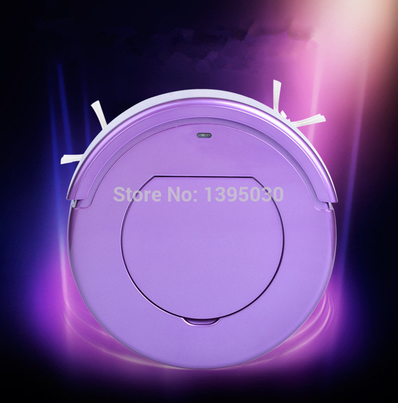 1PC KRV205 Ultra-Thin Intelligent Robot Household Automatic Efficient Vacuum Cleaner(China (Mainland))