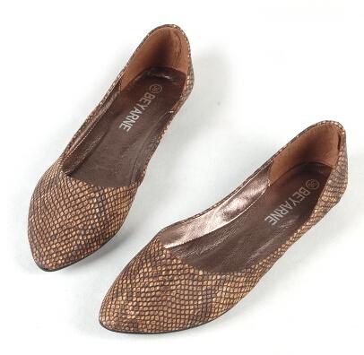 Мода шикарных женщин обувь одного острым носом удобные квартир sapatilhas feМиниnos ...