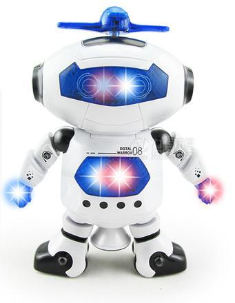 Space Dancing Robot Toy With Light Children Toys Pet Brinquedos Eletronicos Jouets Electronique(China (Mainland))