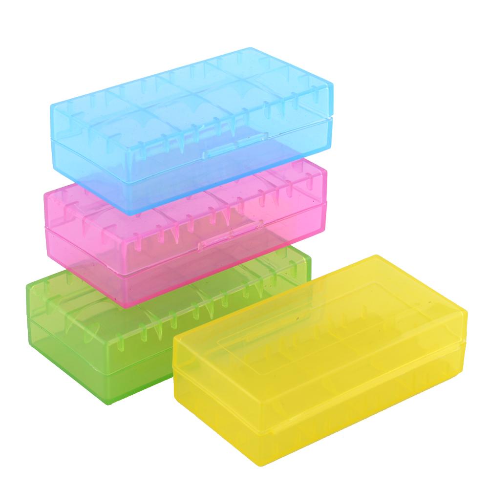 Useful Waterproof Plastic Battery Storage Case Box Holder For 2Pcs 18650 4pcs 123A Randomly Free Shipping(China (Mainland))