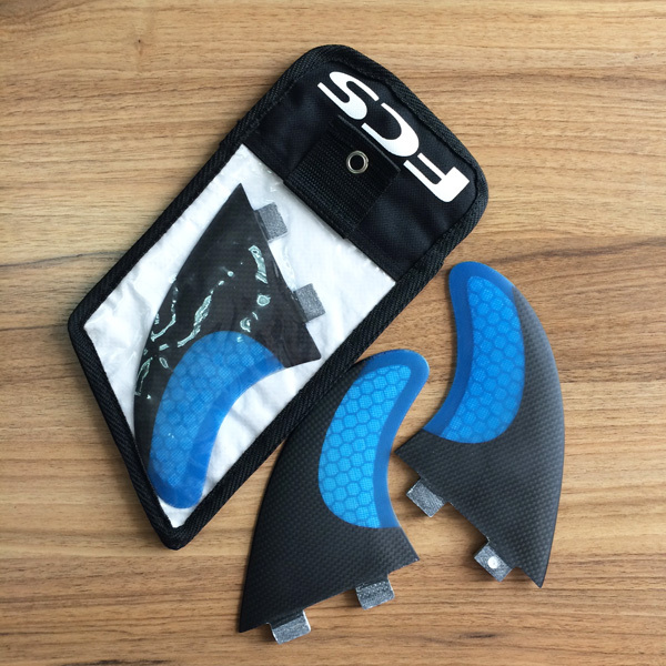 Sexy blue Surfboard  New Carbon And Fiberglass Fcs G7 Fin with Bags от Aliexpress INT