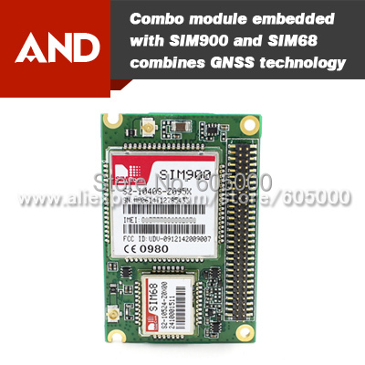 Интегральная микросхема SIMCOM sim968/c Quad GSM GPRS 33tracking/99 SIM968-C soaringe updated sim900 gsm gprs v2 0 shield development doard for arduino new simcom