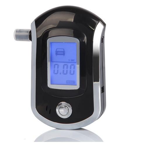 Цифровой жк-дисплей alcotester спирт дыхания профессиональный Mini полиция алкотестер, Автомобиль детектор AT6000