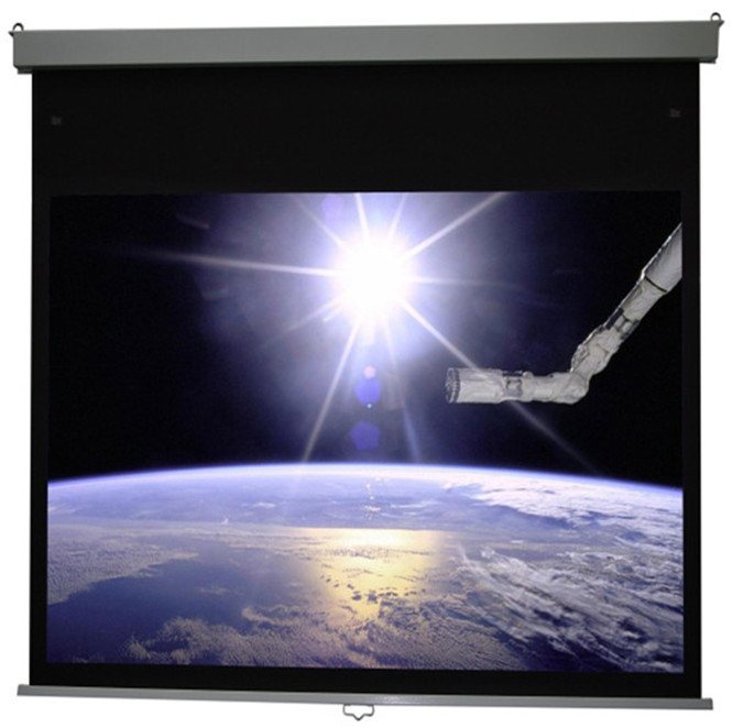 110 16:9 Manto/Square Manual Projector Screen with slow return<br><br>Aliexpress