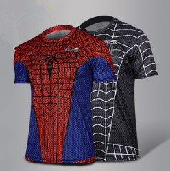 Iron Man 3 Short Sleeve T Shirt/ Novelty Batman T Shirt/ Spider Man Super Man Spiderman Captain America T Shirt Man 2014
