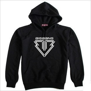 wholesale NEW KPOP BIGBANG BLACK 5TH Hoodie fleece...