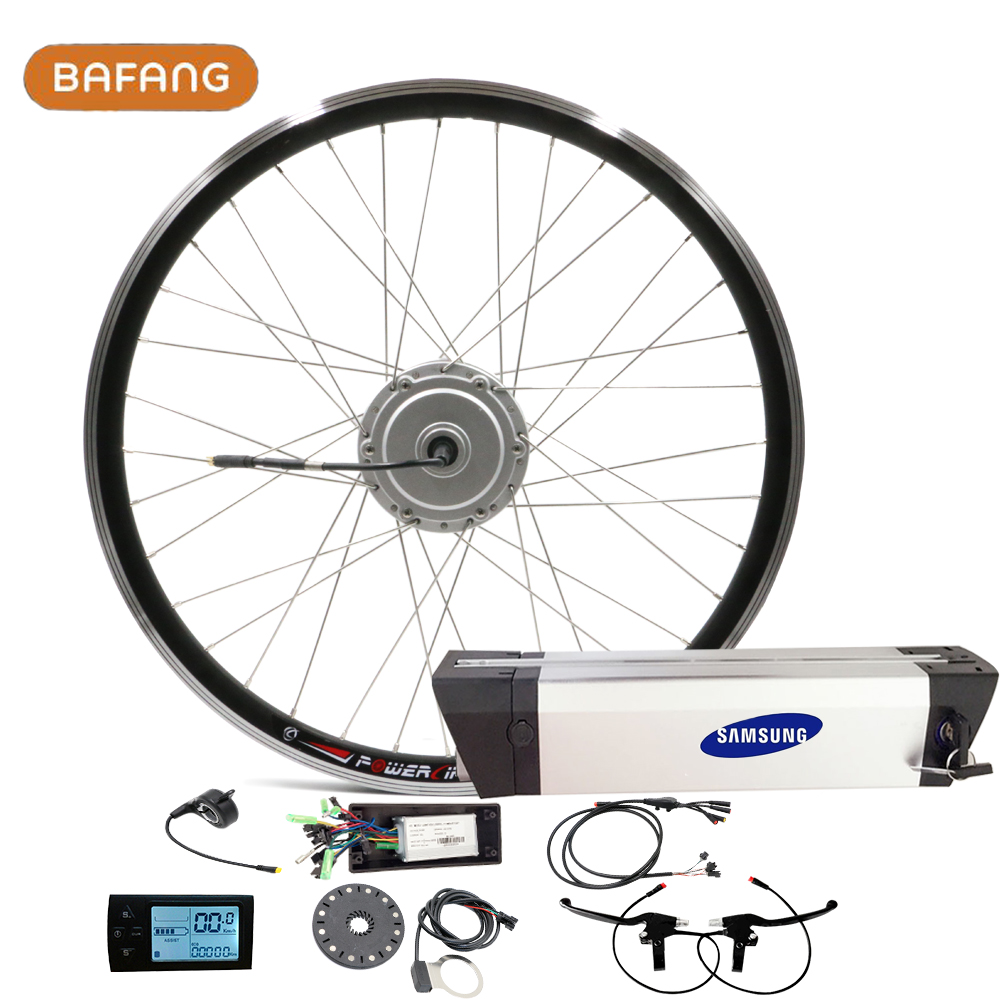 250W Bafang Brushless Hub Motors for 700c Motor Wheels 36V 10ah 12ah Lithium Battery 8FUN Electric Bike Ebike Front Motor Kit(China (Mainland))