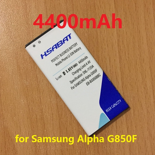 NEW 4400mAh EB-BG850BBC High Capacity Battery Use for Samsung Galaxy Alpha G850F G8508S G8509V G850 G8508 G850T G850V G850M