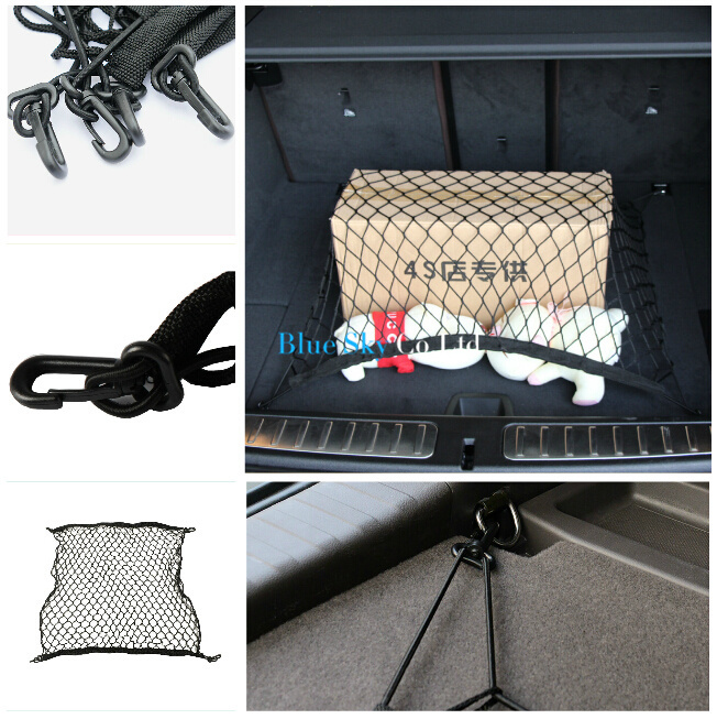 CAR Mesh Truck Cargo Net Holder 4 Hook for Lincoln MKS MKT MKX Town Car,FIT Scion FR-S iQ tC xB xD tC(China (Mainland))